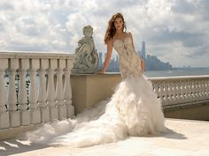 Style 4343 Eve of Milady Fall 2015 Wedding Dress | itakeyou.co.uk