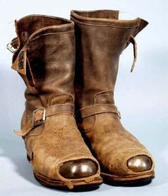 vintage engineer boots - Love em, especially the steel toe.