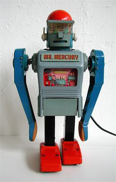 1963 Marx Mr. Mercury Remote Control Robot