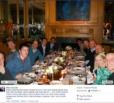 Just Apple SVP Jony Ive eating pizza with CEOs of Yahoo, Yelp, Path, Dropbox, Twitter and execs from Facebook and Google