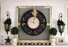 Clock Backdrop  - CountryLiving.com