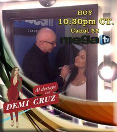 No te pierdas el programa de hoy Al Destape Con Demi Cruz por La MegaTV estarán como invitados especiales Marisela y mi estilista Juan Díaz #Canal55 #Houston #Texas