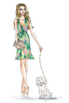 Paint your life. http://blog.emilybrickel.com/paint-your-life/#sthash.jQ6fHLKM.1bSpkBJ1.dpbs illustration by Emily Brickel