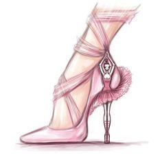 Ballerina heels