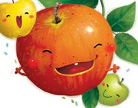 The Apple by Nguyen Thanh Nhan, via Behance