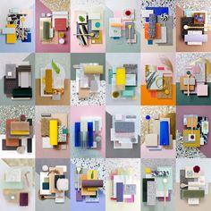 Material Moodboards of 2016 by Studio David Thulstrup #materials #moodboard #inspiration #interiordesign #interior #exterior #architecture #colors #composition #studiodavidthulstrup