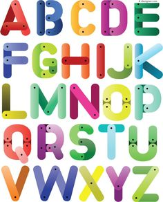 Lovely 26 letters of the alphabet vector Cute Alphabet, English Alphabet, Alphabet And Numbers, Alphabet City, Alphabet Stickers, Alphabet Posters, Alphabet Fonts, Teaching The Alphabet, 26 Letters