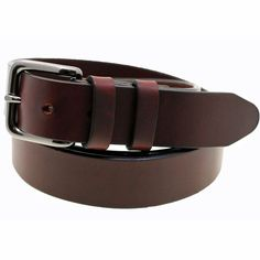 Made In America 1 3/8 Chestnut Oiled Latigo Leather Belt Double Loop #OrionLeather