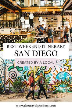 San Diego weekend itinerary