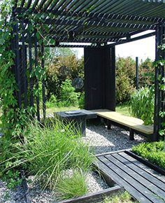 The pergola kits are the easiest and quickest way to build a garden pergola. There are lots of do it yourself pergola kits available to you so that anyone could easily put them together to construct a new structure at their backyard. Diy Pergola, Pergola Canopy, Outdoor Pergola, Wooden Pergola, Pergola Lighting, Black Pergola, Wood Patio, Steel Pergola, Cheap Pergola