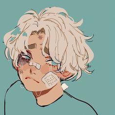 Who hurt this soft, precious boy?Who hurt this soft, precious Creator Selection Inspiration Art, Art Inspo, Aesthetic Art, Aesthetic Anime, Aesthetic Drawing, Character Sketches, Character Art, Art Du Croquis, Cartoon Kunst