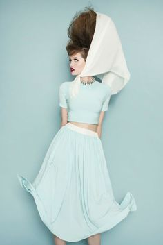Toronto designer Matthew Gallagher puts us in the mood for spring with a retro-i...