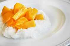 The Color Issue: Coconut Mango Sticky Rice