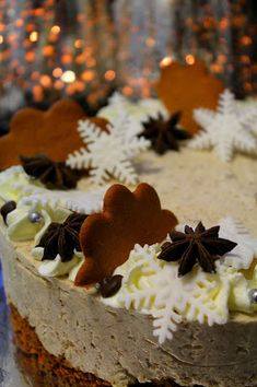 White Christmas, Panna Cotta, Cheesecake, Food And Drink, Pudding, Meat, Baking, Ethnic Recipes, Desserts