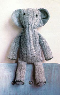 futuregirl craft blog : SOCK ELEPHANT!!!