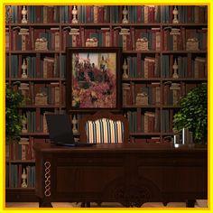 office reference bookshelf desktop distri couch