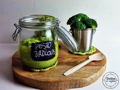 pesto de brócolos