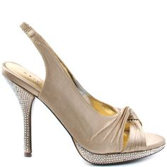 Heels I Love #heels #summer #high_heels #color #love #shoes Martinez Valero    Lana - Nude Satin