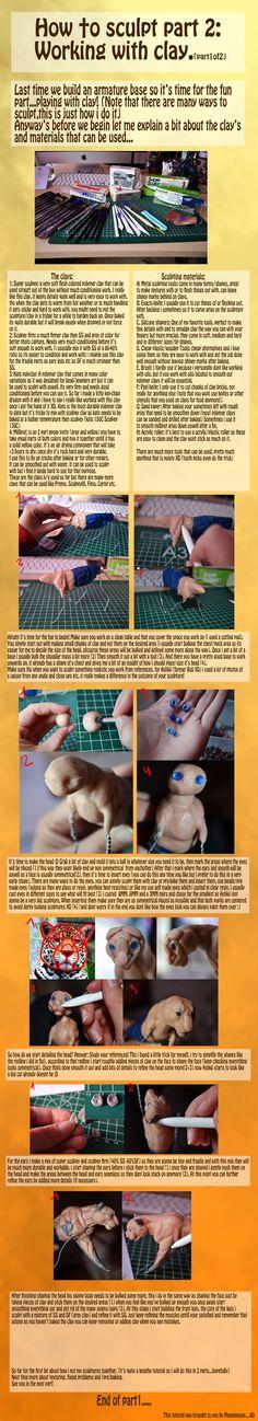 Sculpting tut part 1 of 2. reupload by mangakasan on deviantART
