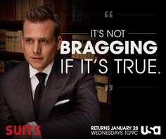 The best Harvey Specter quotes More
