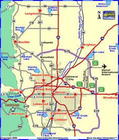 19 best Colorado Local Area Maps images on Pinterest   Area map ...