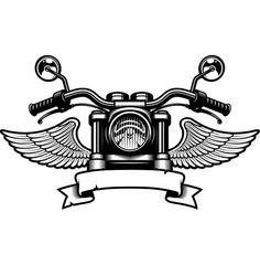coloring pages - Motorcycle Logo 5 Handle Bars Wings Bike Biker Chopper Mechanic Service Shop Banner SVG EPS PNG Clipart Vector Cricut Cut Cutting File Biker Tattoos, Motorcycle Tattoos, Motorcycle Logo, Chopper Motorcycle, Women Motorcycle, Harley Tattoos, Motorcycle Jacket, Moto Logo, Cb 750 Cafe Racer