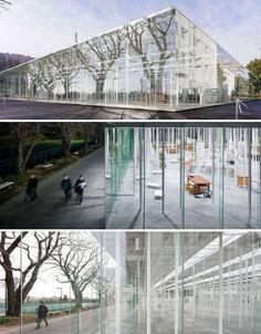 Kanagawa Institute of Technology Glass Building, Japan