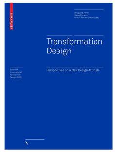 Transformation Design by Birkhäuser