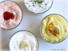 Dips sind ein Muss auf jeder Party. Die kalten Saucen sind schnell herzustellen und machen aus Rohkost, Chips und Crackern leckere Parysnacks und sind auch zu Fleisch, besonders Raclette und Fondue…