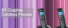 BT Graphite Cordless Phones