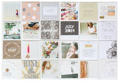 stephanie makes: Project Life: Studio Calico Poet Society Review & A Giveaway