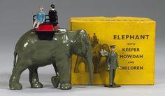 Britains Zoo set 25Z, Elephant Ride 5
