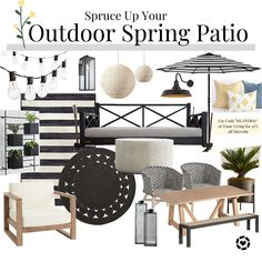 Outdoor Lounge, Outdoor Living, Small Patio Spaces, White Deck, Decks And Porches, Back Patio, Lounge Areas, Decor Interior Design, Living Spaces