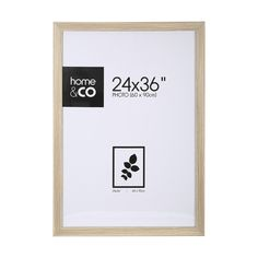 Poster Frame - 24in. x 36in. (60cm x 90cm), Wood