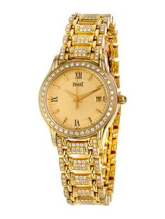 Women's Piaget Polo Round Gold Watch by Estate Watches on Gilt.com