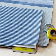If you can iron a shirt, you can make custom fabric file folders with this ‪#‎DIY‬ project from the decor gurus at Martha Stewart: http://www.marthastewart.com/1078617/folder