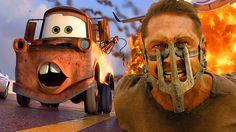 CARS (Mad Max: Fury Road Style) #cars #madmax #furyroad #disney #pixar #mashup #film #movies #trailer #funny #viral