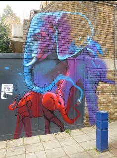 Street Art by Falko1, located in London, UK