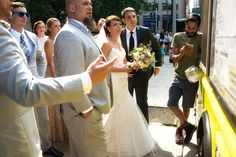 Downtown Chicago wedding photography by Candice C. Cusic