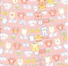 Baby girl background paper