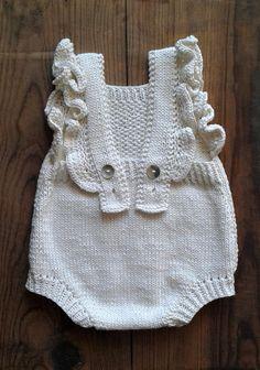 Cute Baby Romper in 100% Organic Cotton yarn