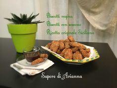 Biscotti regina, biscotti con sesamo! Ricetta Siciliana