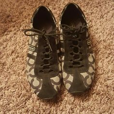 Coach shoes Barely worn super cute coach Kathleen shoes Coach Shoes Sneakers