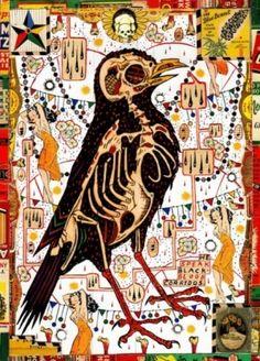 Bird for the daughters of Juarez - Tony Fitzpatrick.