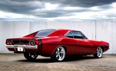 Red Candy Apple Charger