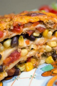 A yummy sauce packed with onion, red bell pepper and tomatoes is used, along with a filling of black...