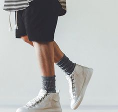 Jacob Keller in Balenciaga Arenas. #sneakers long tee from represent clothing #fashion