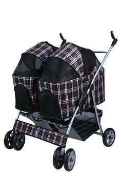 double dog stroller