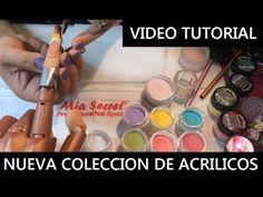NUEVA Colección de Acrílicos de Colores COLOR PUNCH™   MIA SECRET - YouTube