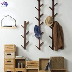 Living Room Shoe Storage Lovely 2019 Actionclub Bamboo Wooden Hanging Coat Rack Wall Clothes Hanger Living Room Bedroom Decoration Hanger Wall Shelves 6 Hooks From Hanging Coat Rack, Coat Rack Shelf, Wooden Coat Rack, Coat Racks, Buy Bamboo, Bamboo Wall, Bathroom Door Hooks, Living Room Bedroom, Bedroom Decor